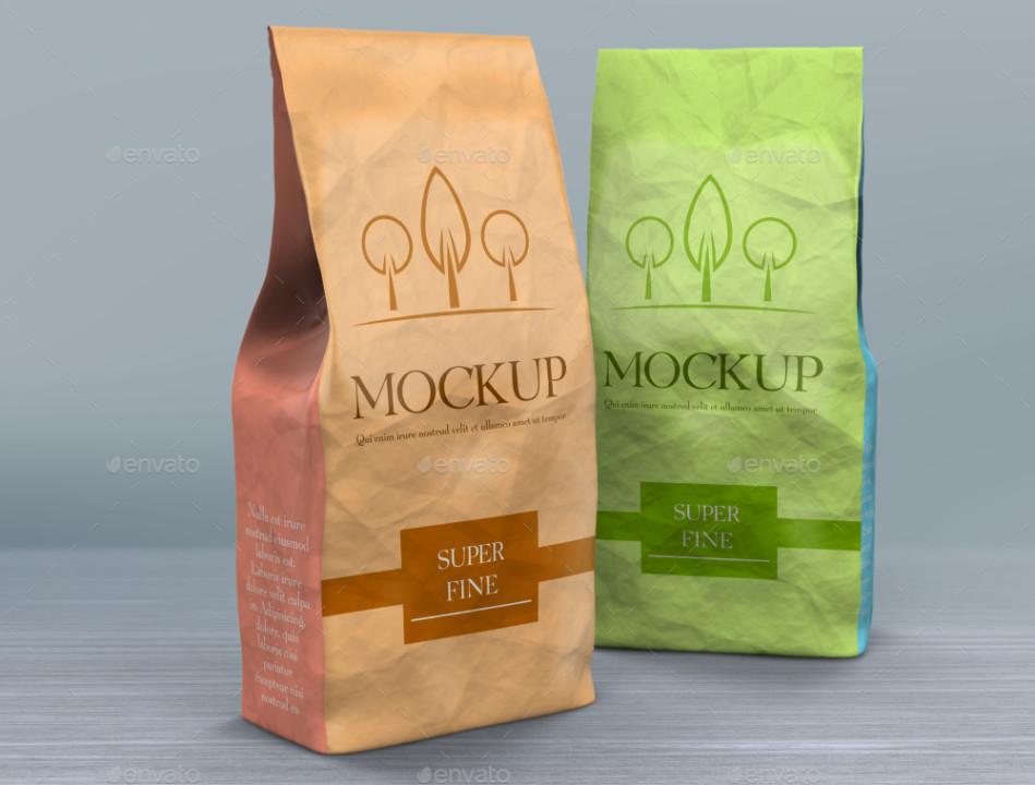 Bakery Bag Mockup TemplateBakery Bag Mockup Template