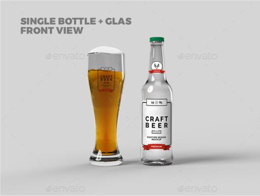 Beer Branding Mockup Template