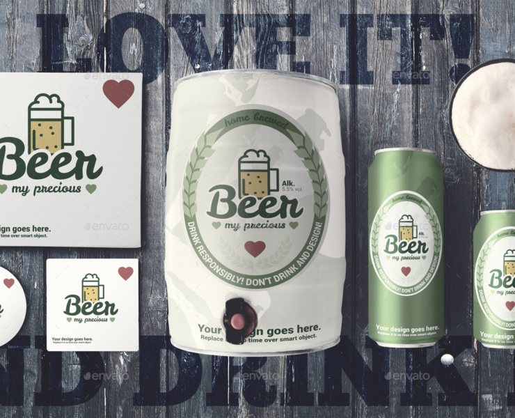 Beer-cans-&-kag-mockup-branding bottle mock-up