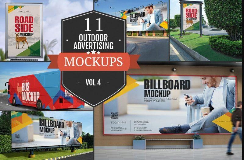 Best Outdoor Advertisement Mockup