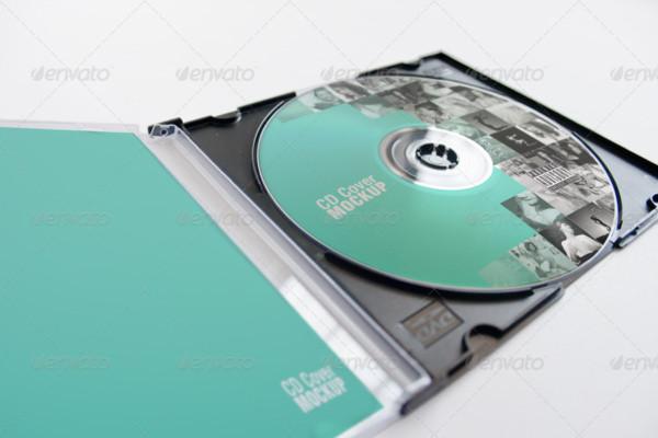 Best Selling CD Mockup PSD