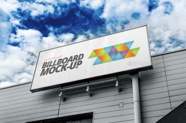 Billboard Outdoor Mockup