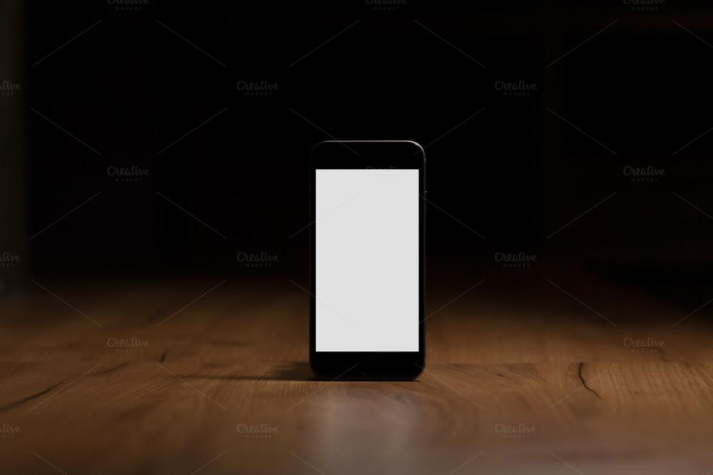 Blank Mobile Mockup PSD
