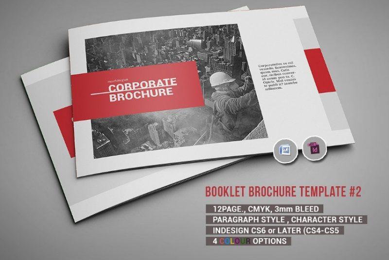 Booklet Brochure Template PSD