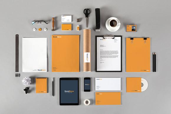 Branding Identity Mockup PSD Template