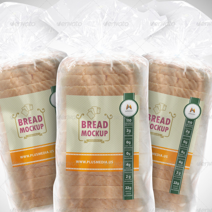 Bread Label Mockup