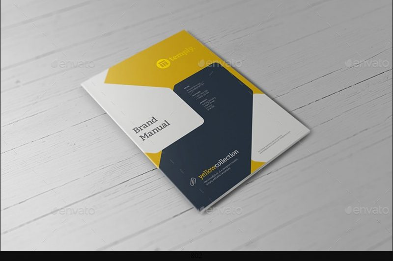 Business Booklet Mpckup PSD