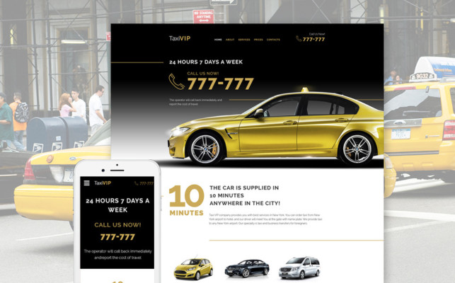 Business Theme for Taxi company