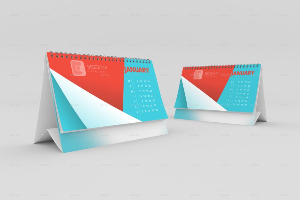 Calendar Mockup PSD for Branding