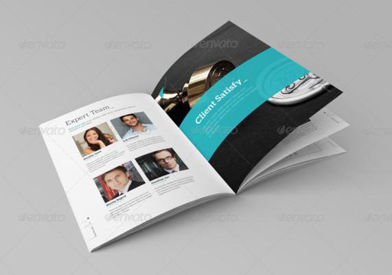 Clean Business Brochure Template