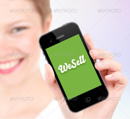 Clean Mobile App Mockup