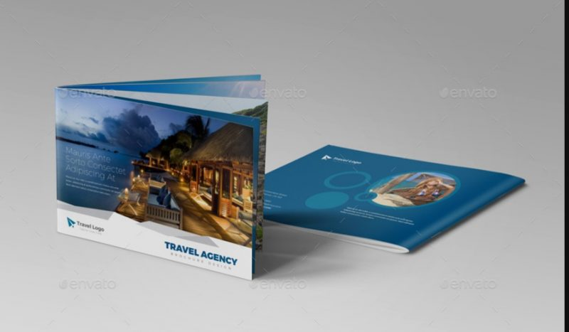 Clean Travel Brochure Template