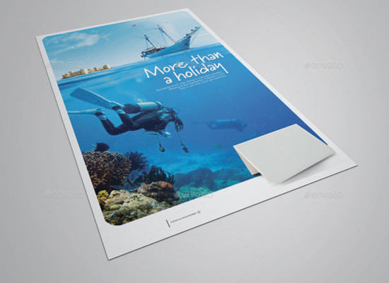 Corporate Flyer Mockup Template
