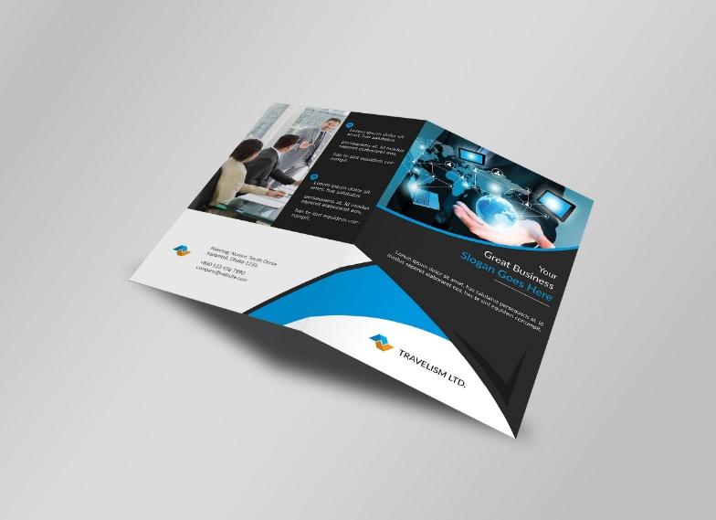Creative Bi Fold Brochure Template