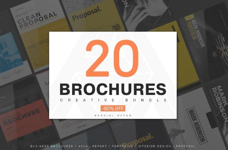 Creative Brochure Template Bundle