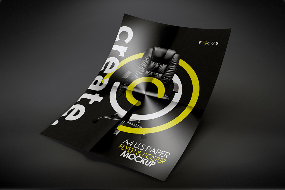 Creative Flyer Mockup template