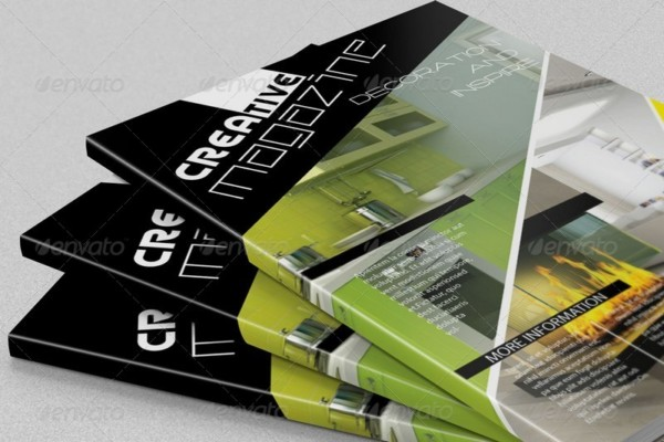 Creative Magazine Mockup PSD