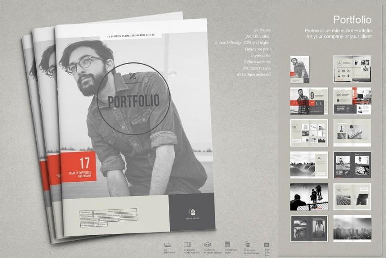 Creative Portfolio Brochure Template