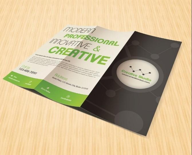 Creative Tri Fold Brochure Template