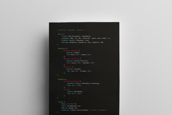 Creative-Web-Developer-Resume-Template