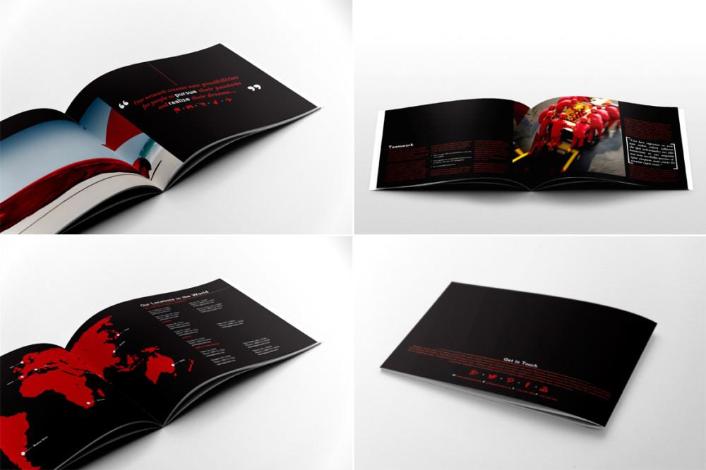 Customisable Business Brochure Template