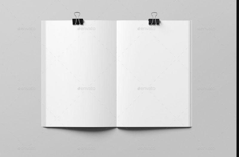 Customizable Booklet Mockup
