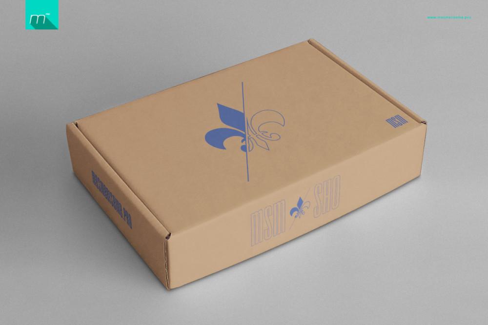 Customizable Box Mockup Template