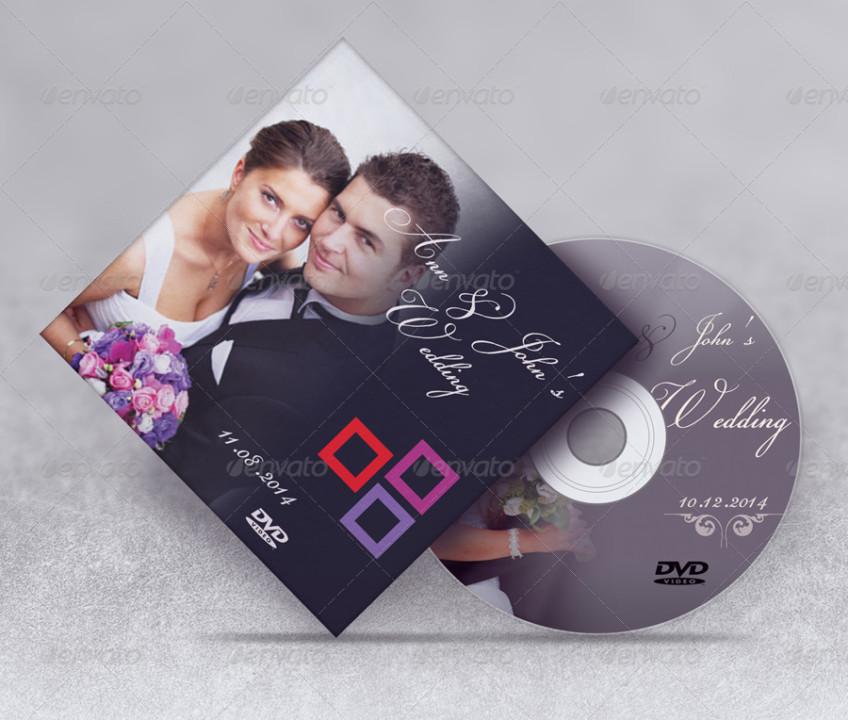 Customizable CD Mockup Template