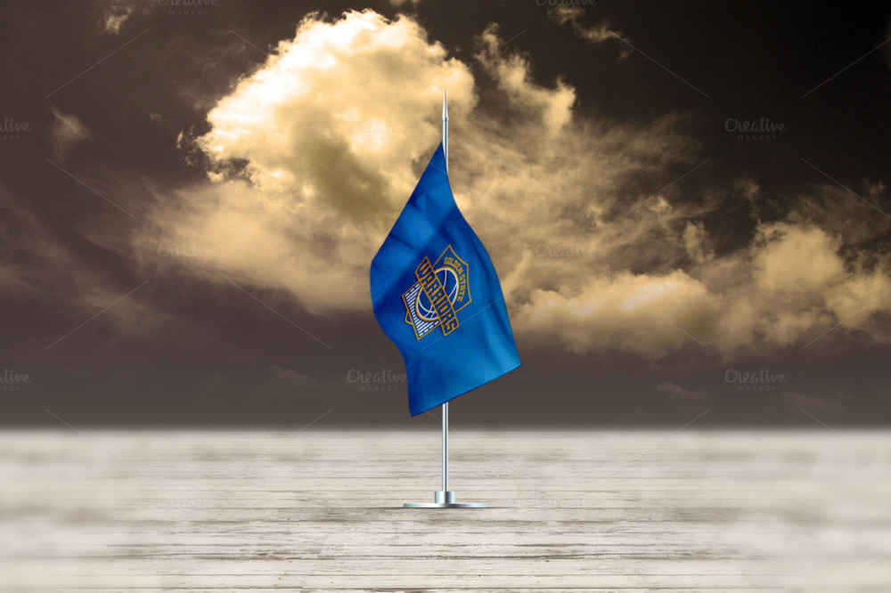 Customizable Flag Mock-up