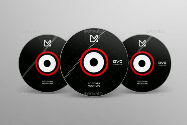 Easy Editable CD Mockup PSD