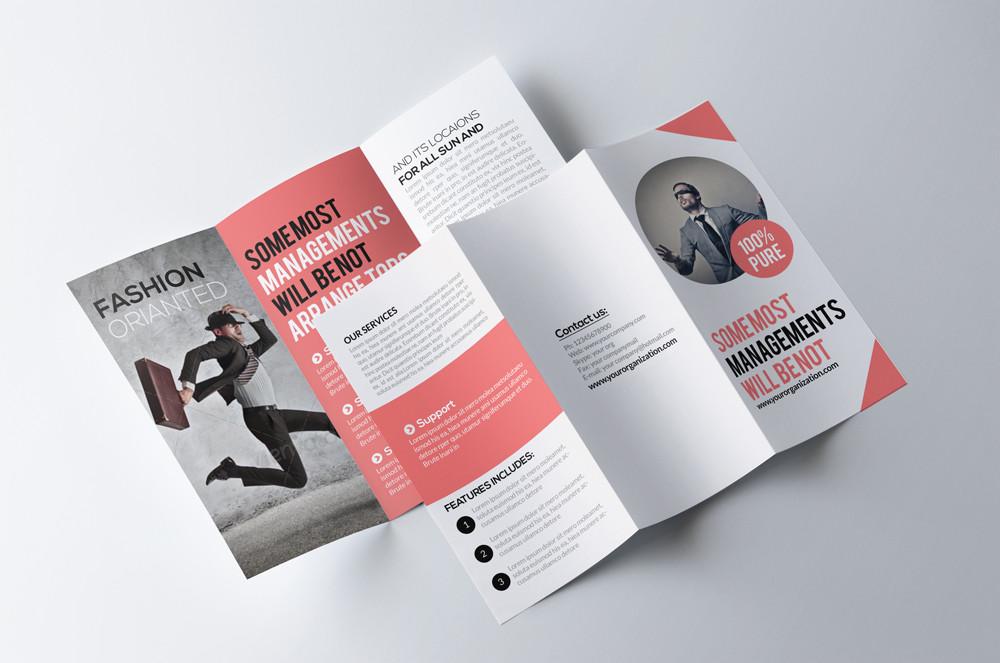 Easy Editable Tri Fold Brochure