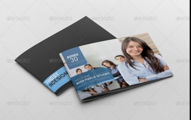 Editable Brochure Template PSD