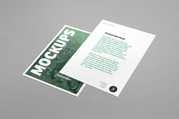 Editable Flyer Mockup Template