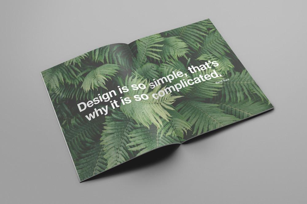 Editable Magazine Mockup PSD