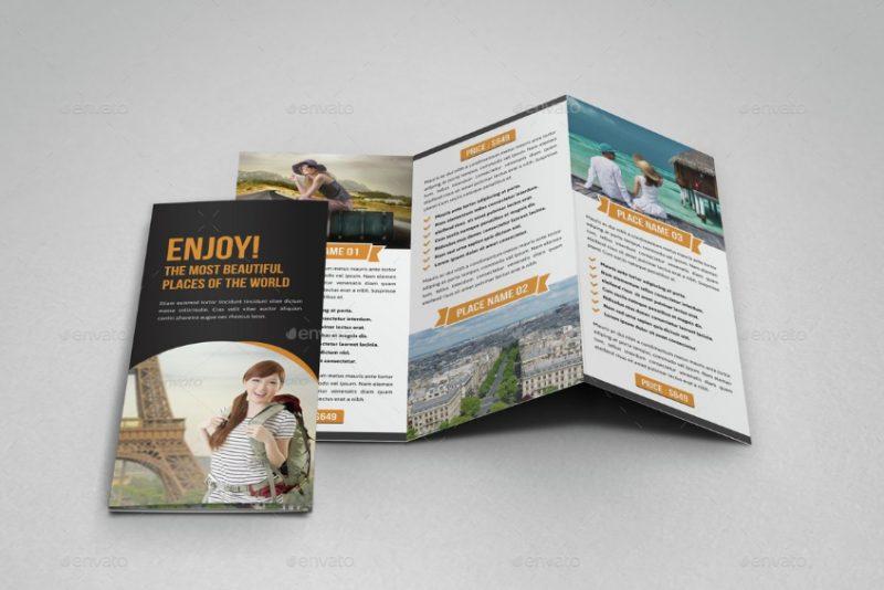 Editable Travel Brochure Template