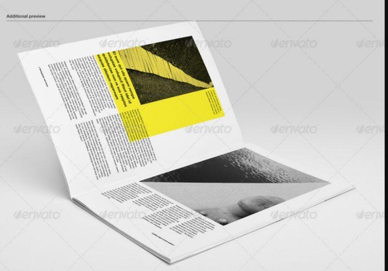 Elegant Booklet Mockup PSD