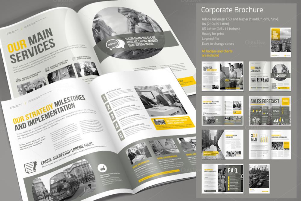 Elegant Corporate Business Brochure