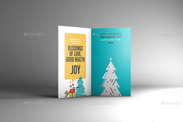 Elegant Greeting Card Mockup Design