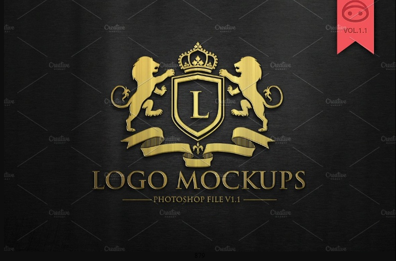 Elegant Logo Mockup
