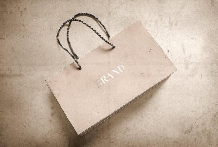 Elegant Paper Bag Mockup