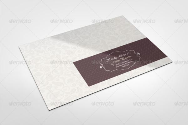 Envelope Labels Mockup Template