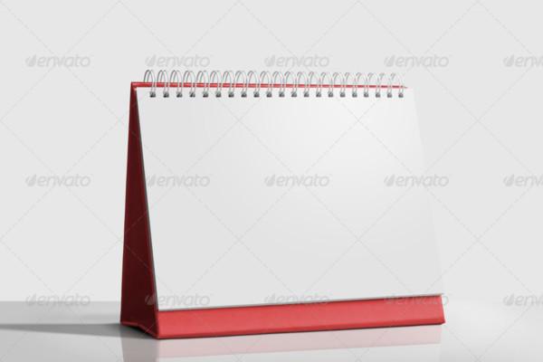 Fully Layered Calendar Mockup