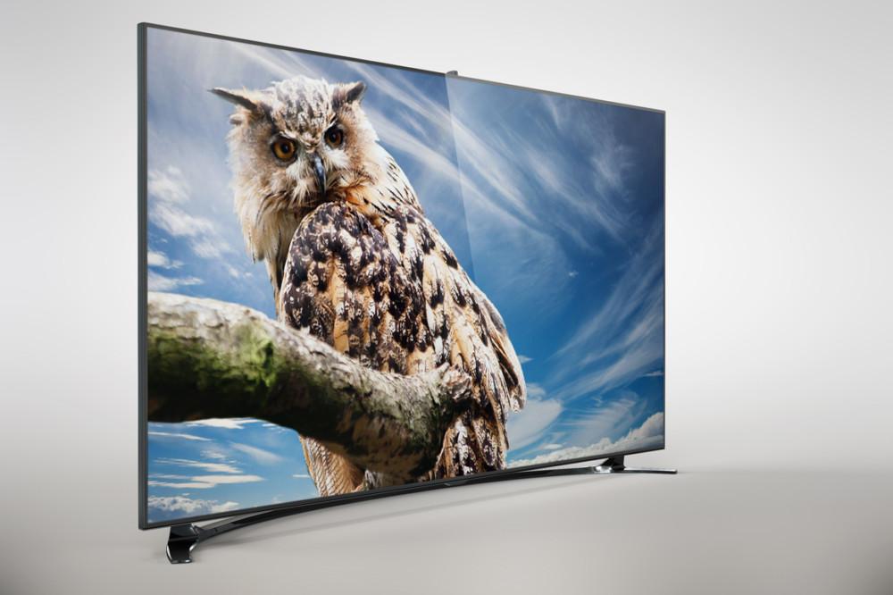 HD Samsung TV Mockup PSD