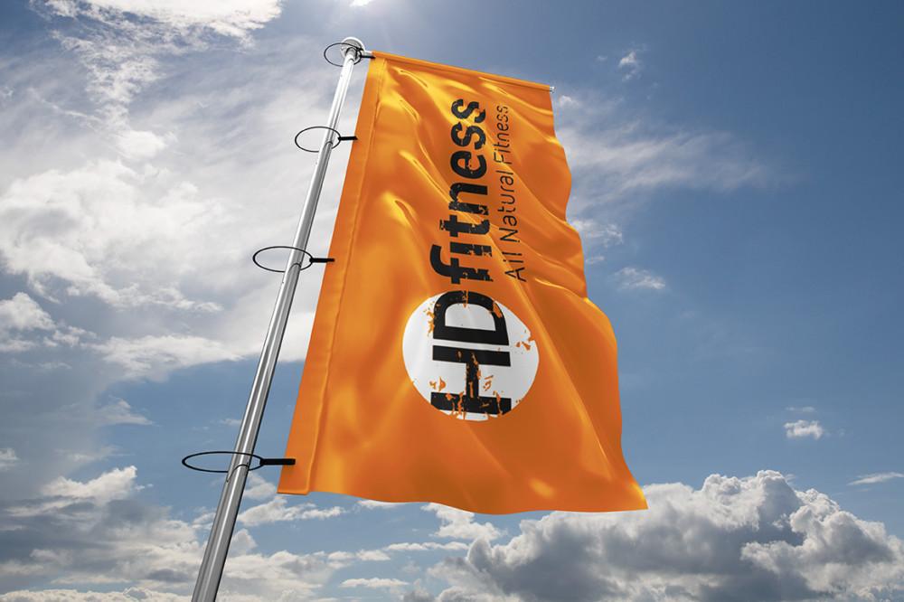 High Quality Flag Mockups