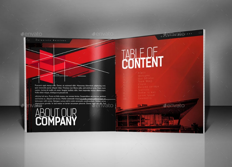 INDD Corporate Brochure Template