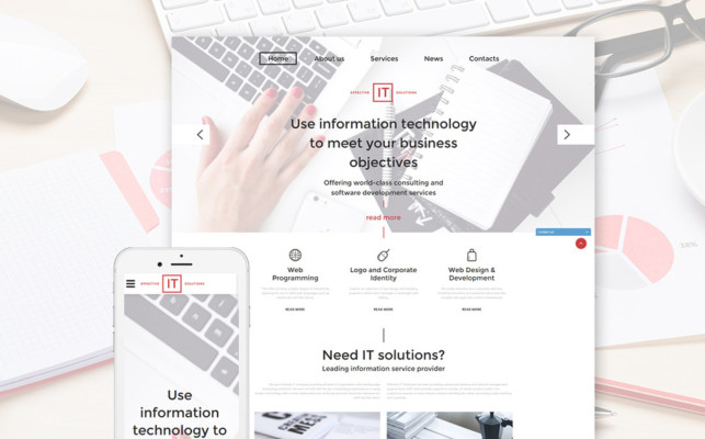 IT Solutions Business Template