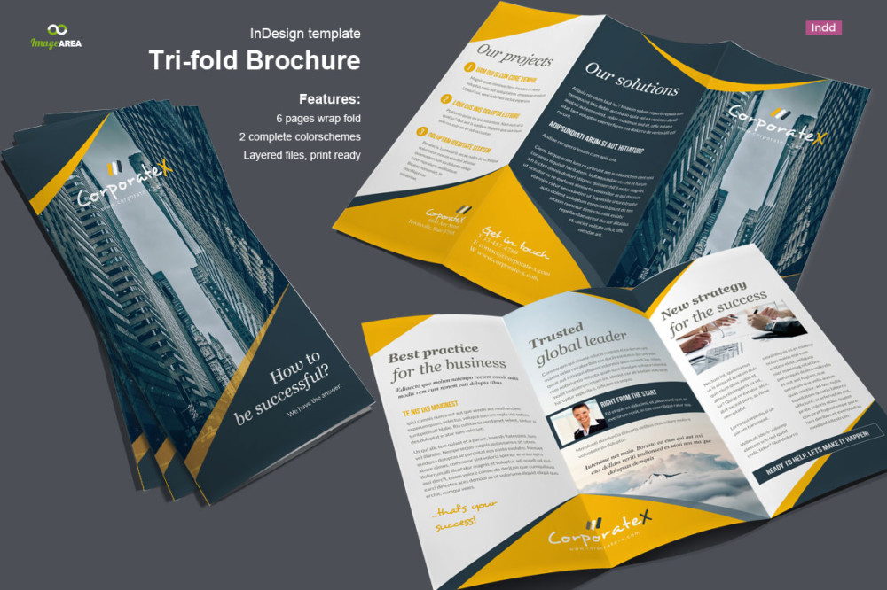 In Design Tri Fold Brochure