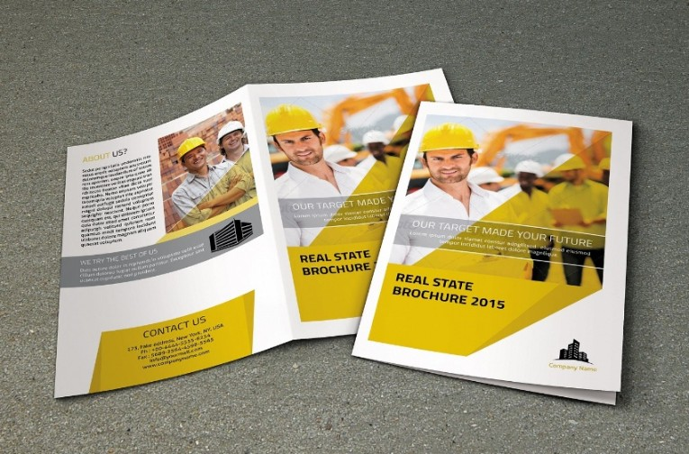 InDesign Real Estate Brochure Template (1)