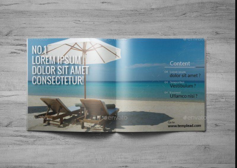 InDesign Travel Brochure Template