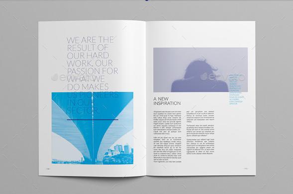Informational Business Brochure Template